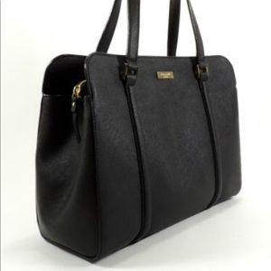Kate Spade Newbury Lane Miles black leather